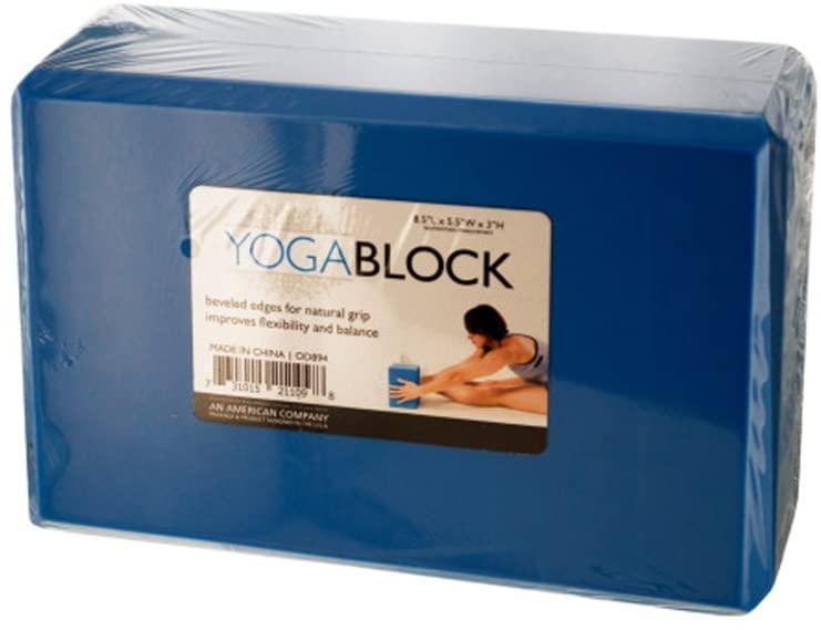 Bulk Buys Fitness Exercise Natural Grip Yoga Block Pack of 5