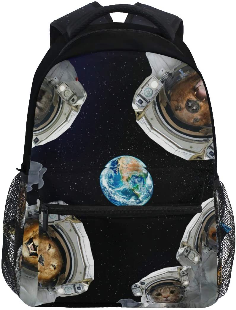 Student Space Animal Backpacks College School Book Bag Travel Hiking Camping Daypack for boy for Girl | 16