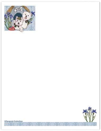 Animal Pet Gifts, Westie Large Stationery Set