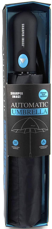 SHARPER IMAGE GENTLEMEN'S AUTOMATIC UMBRELLA - GREAT GIFT FOR MEN