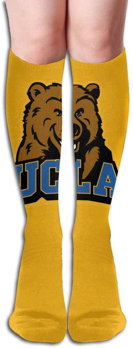 U-C-L-A Men's/Women's Comfortable Casual Funny Long Knee High Socks Compression Socks Winter Warm Soccer Socks
