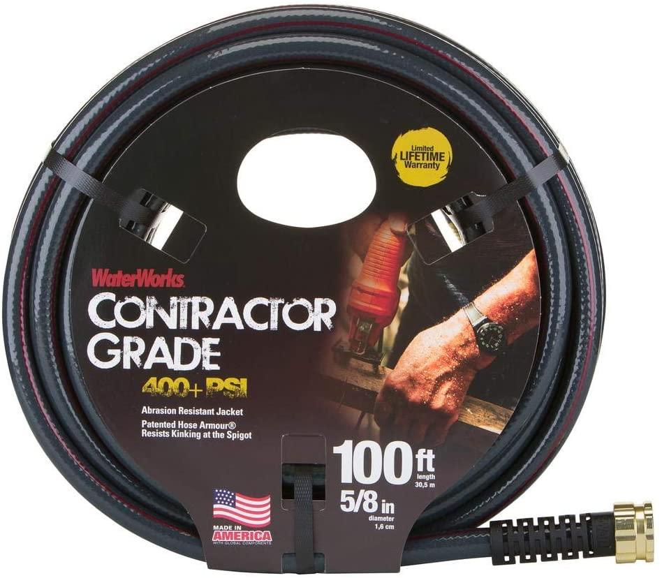Waterworks 5/8 In. X 100 Ft. Contractor Grade Garden Hose