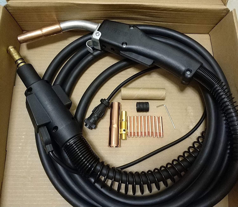 US SELLER, MIG WELDING GUN 15' 250AMP fits Lincoln Power Mig 200/215/216/255/255C/255XT/256/260 (ETA: 2-8 work days)