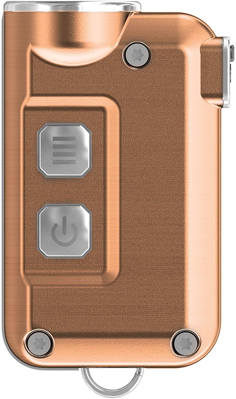 NITECORE TINI 380 Lm Super Small USB Rechargeable LED Keychain Flashlight