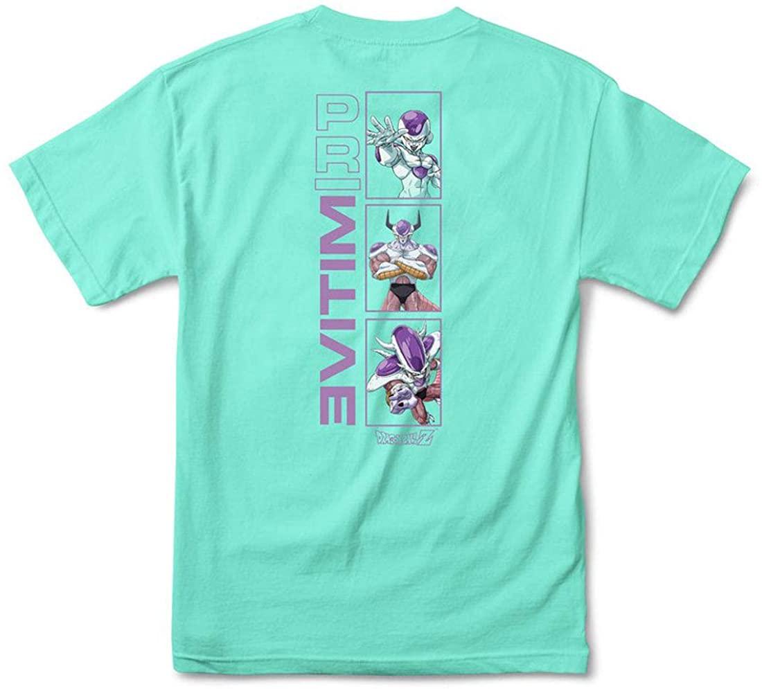 Primitive x Dragon Ball Z Mens Frieza Forms Short Sleeve T Shirt