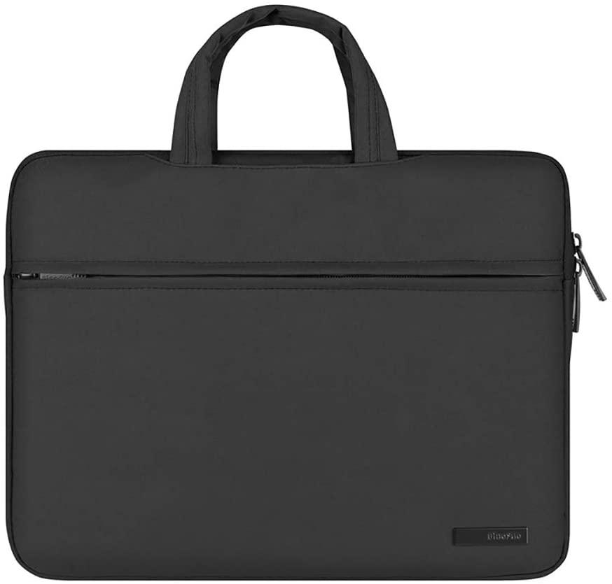 Mens briefcase Notebook business bag multi-function structure notebook bag computer bag handbag men and women liner bag industrial package laptop bag laptop bag ( Color : Black , Size : 15.6 )