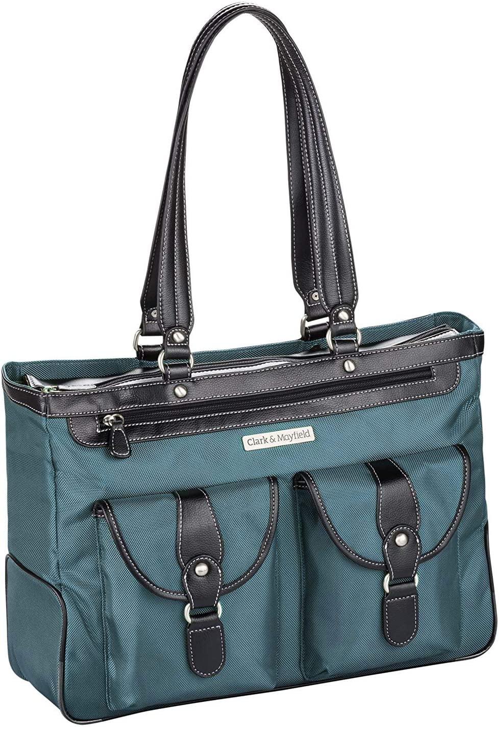 Clark & Mayfield Marquam Metro Laptop Handbag 18.4 (Deep Teal)