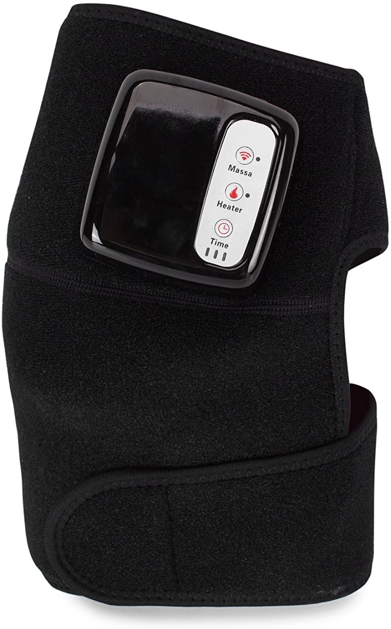 Rechargeable Knee pad Portable Heated and Vibration Knee Massager