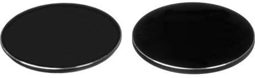 ICE 62mm Filter Stack Cap Set Metal Front & Rear Lens Caps 62