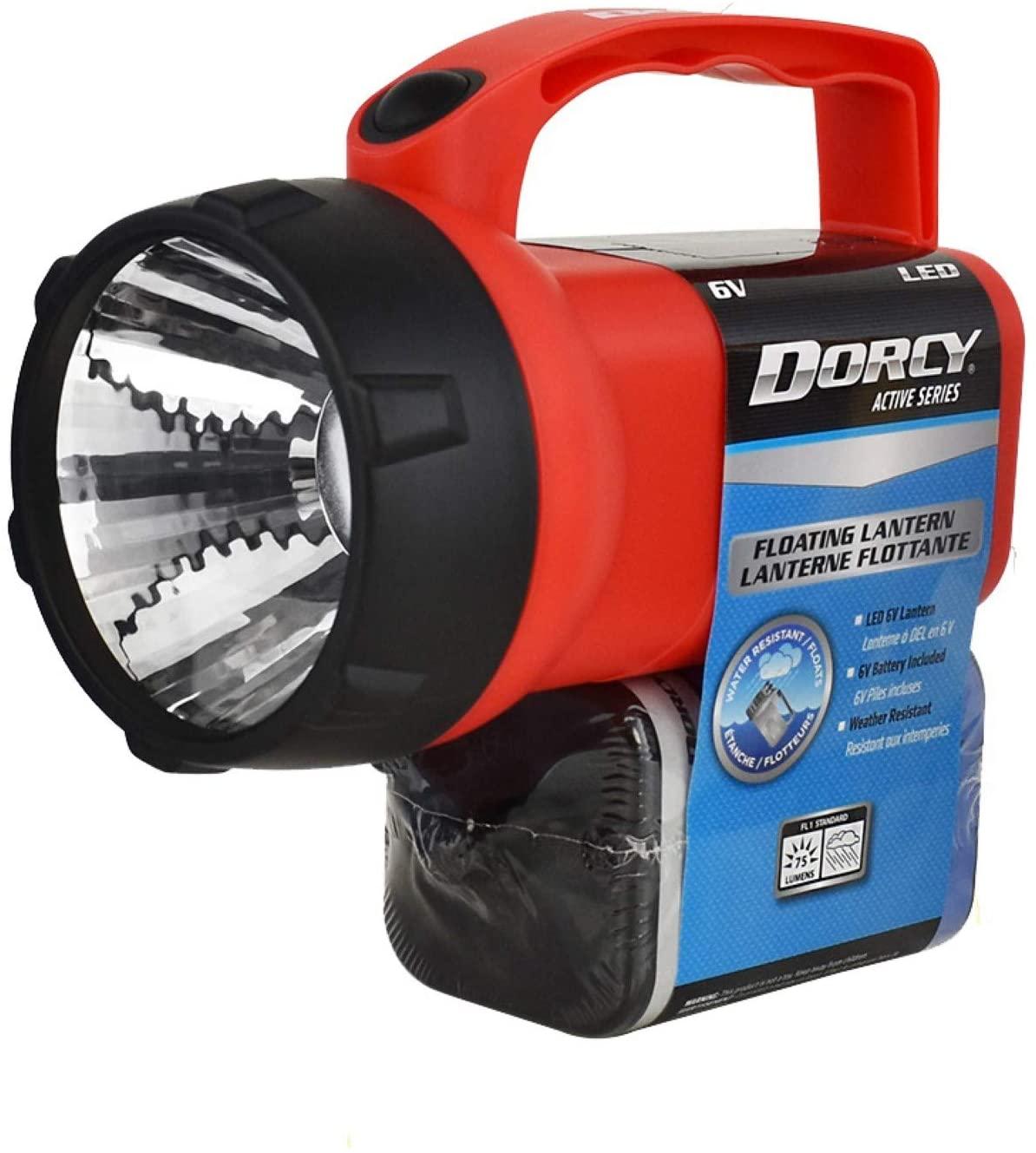 Dorcy 35-Lumen Floating Waterproof LED Flashlight Lantern, Assorted Colors (41-2081)