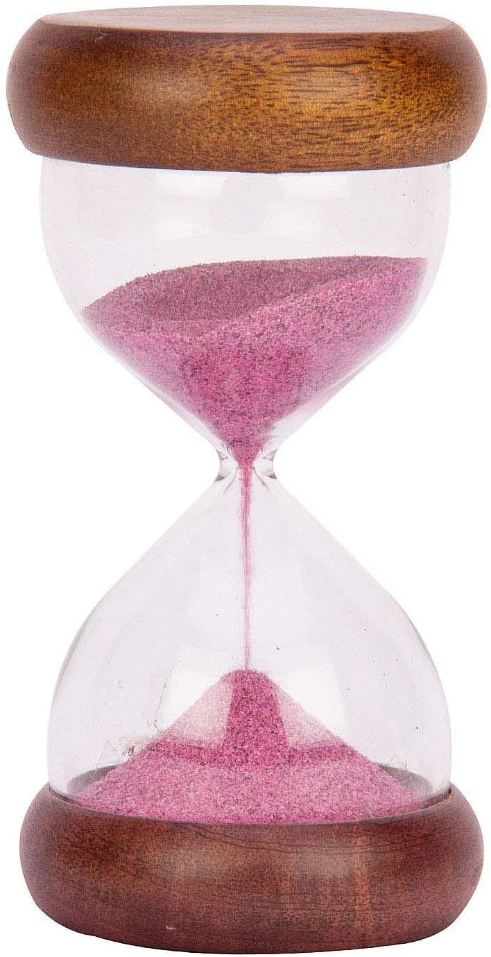 Indian Handicrafts Export Sand Timer | Sleek | Hour Glass | Sand Glass | Sand Clock | 5 Minutes