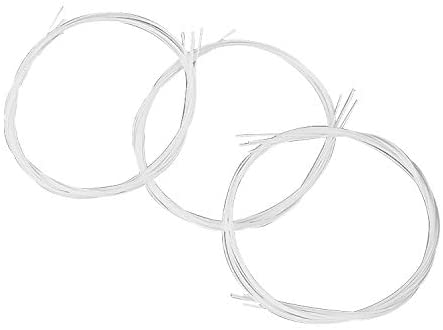 Hooshion 1 Set 4pc Ukulele Strings Replacement Nylon String for 21/23/26-inch Ukulele