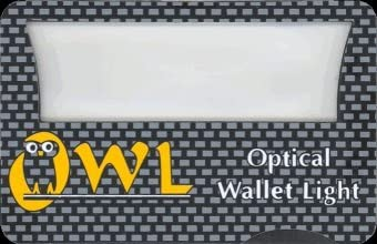 Black Diamond Owl Optical Wallet Light Pack of 4