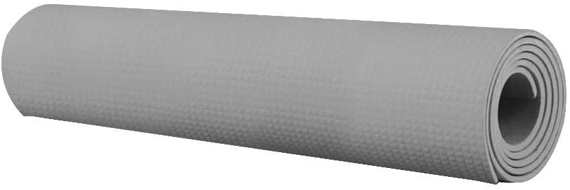 Vansee Yoga Mat, 4MM Thick Durable Yoga Mat Non-Slip Exercise Fitness Pad Mat Lose Weight (Gray)