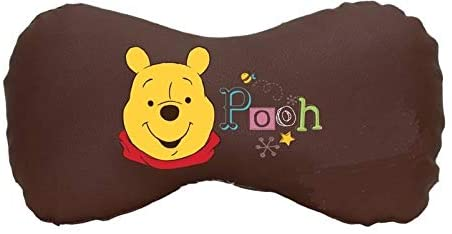 next Winnie The Pooh Neck Cushion, Premium Water Resistant PVC Edition, Pooh Brown LE Auto Collection