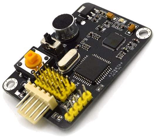 Taidacent Non-Specific Person LD3320 Voice Recognizer Voice Control Home Automation System ASR M08-B Open Source Voice Recognition