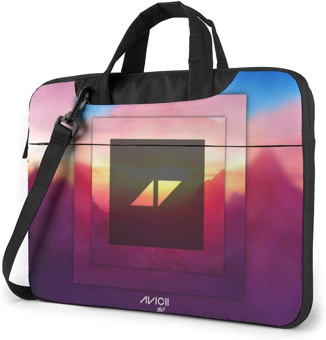 JuaoHuan Avicii Laptop Shoulder Messenger Bag Case Briefcase Sleeve for 13 Inch 14 Inch 15.6 Inch Laptop Case 13 Inch