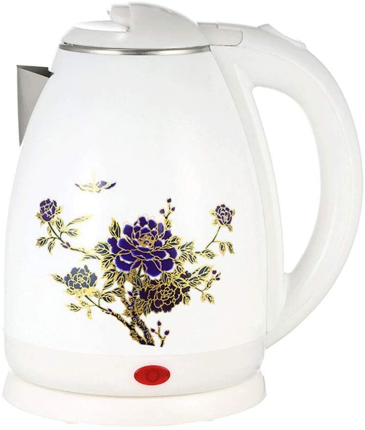 Electric Kettle 1.8L Auto Power-off Protection Smart Water Boiler Instant Heating Stainless Steel Teapot