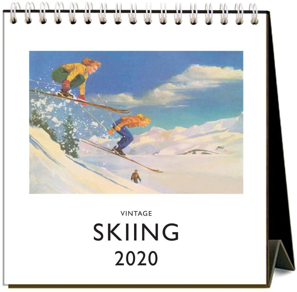 Skiing 2020 Calendar