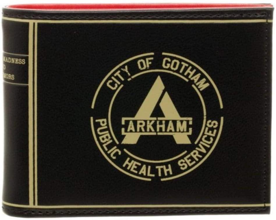 Dc Comics Suicide Squad Arkham Bifold Wallet