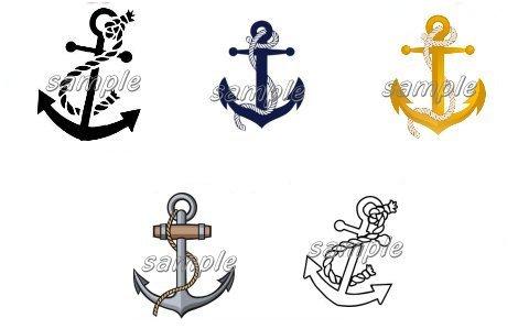 100 Anchor Nail Art Designs Decals