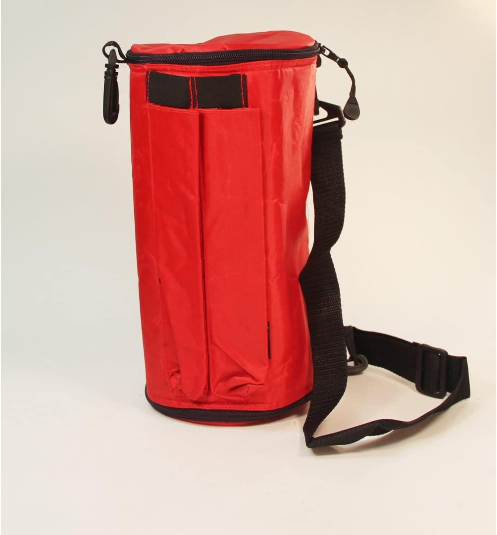 Zeekio Triple Diabolo Bag - Red