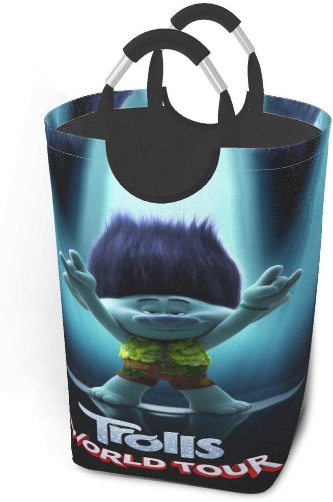 Abkola Trolls World Tour Stylish and Beautiful Storage Laundry Bag