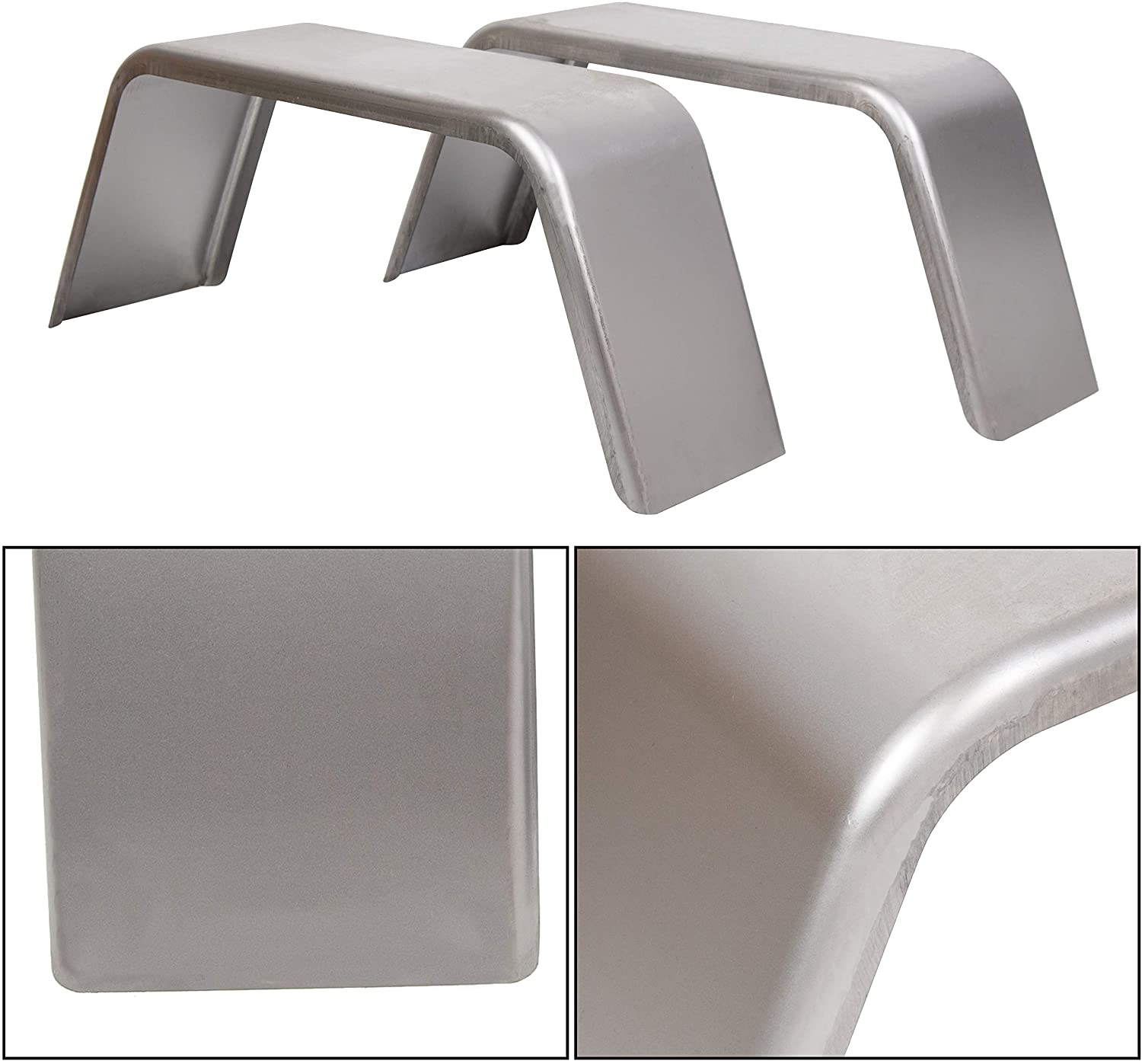 ECOTRIC Square Trailer Fenders for 14
