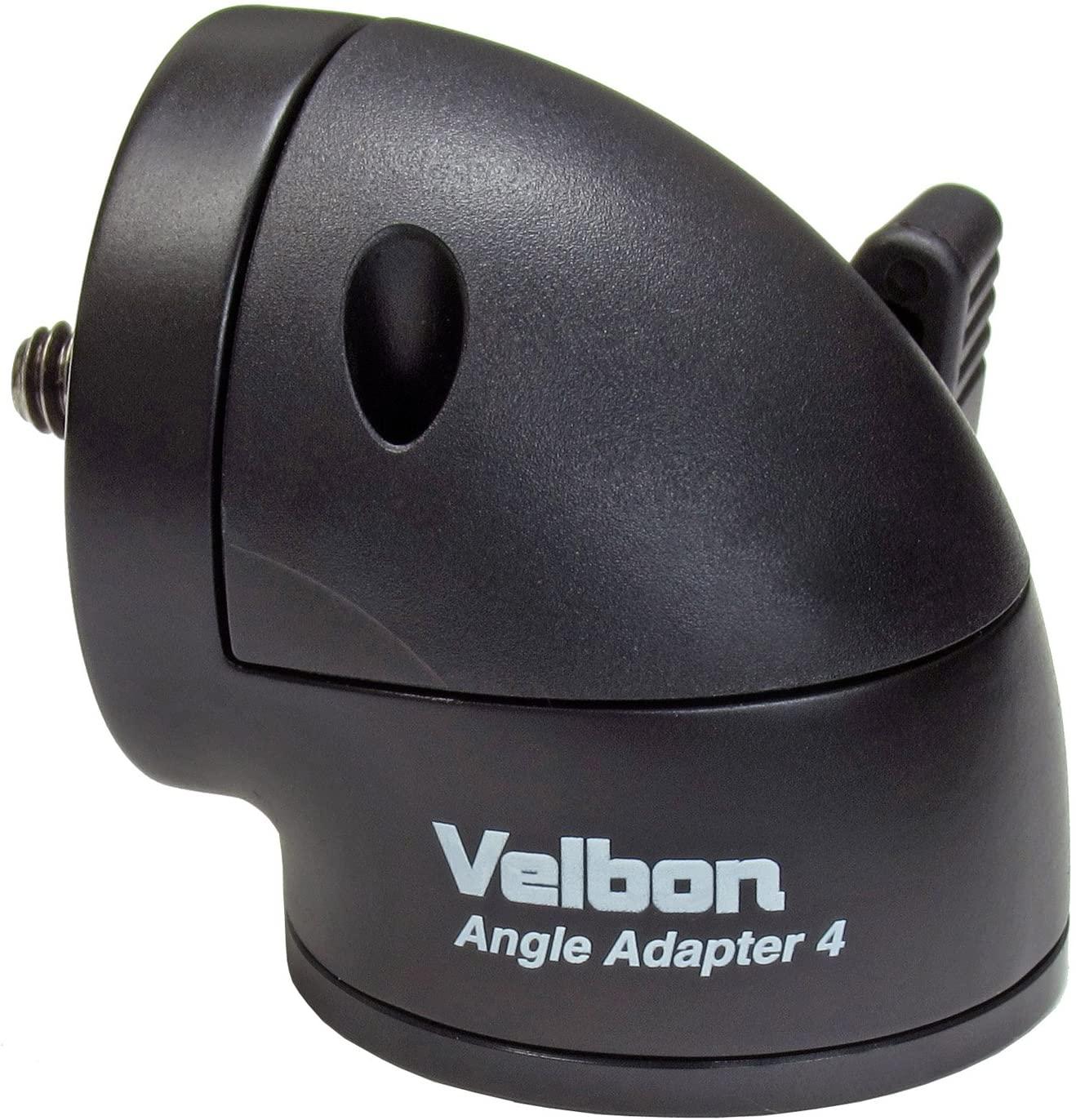 Velbon Angle Adapter 4 for Tripod - Black