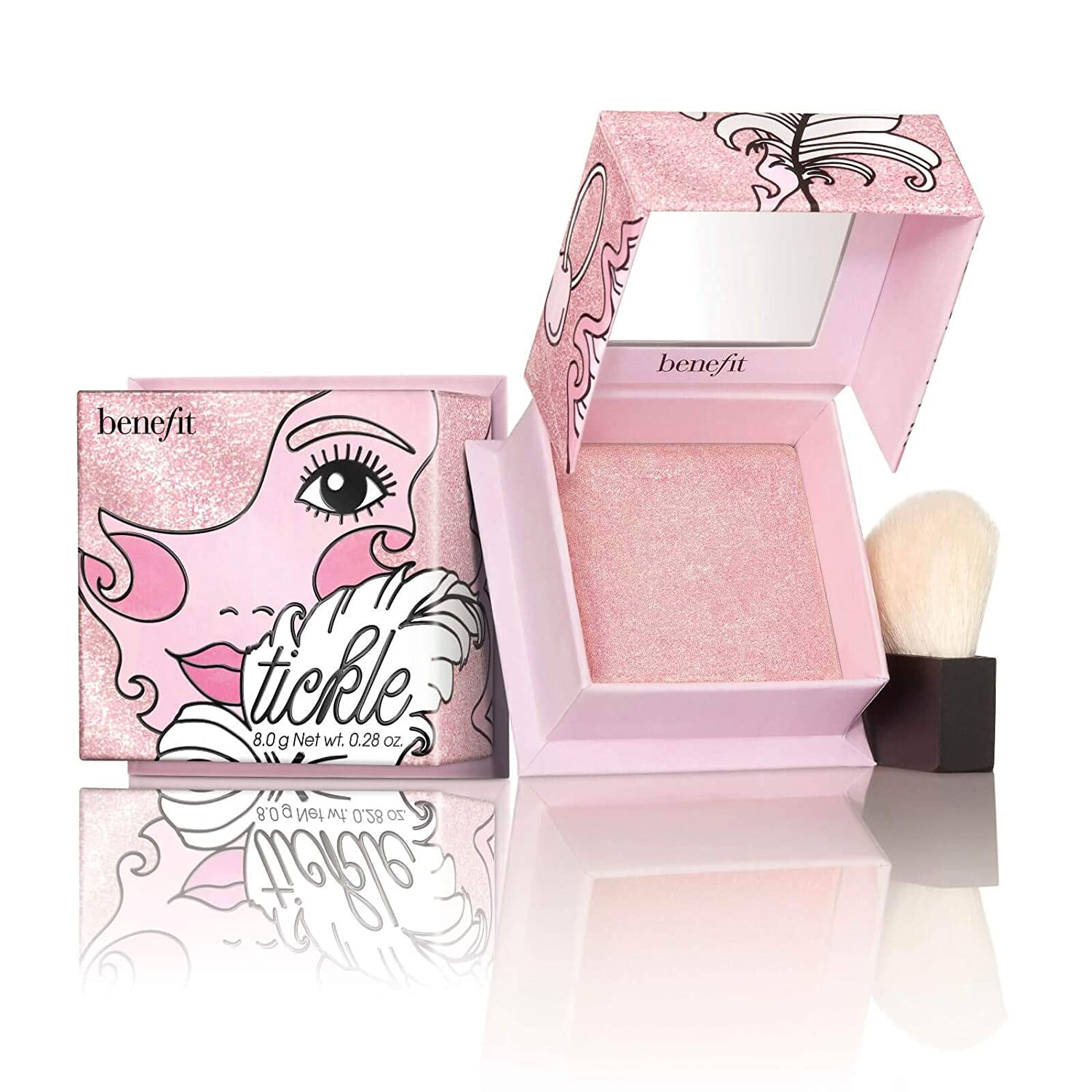 Benefit Cosmetics Tickle Powder Highlighter - Full Size