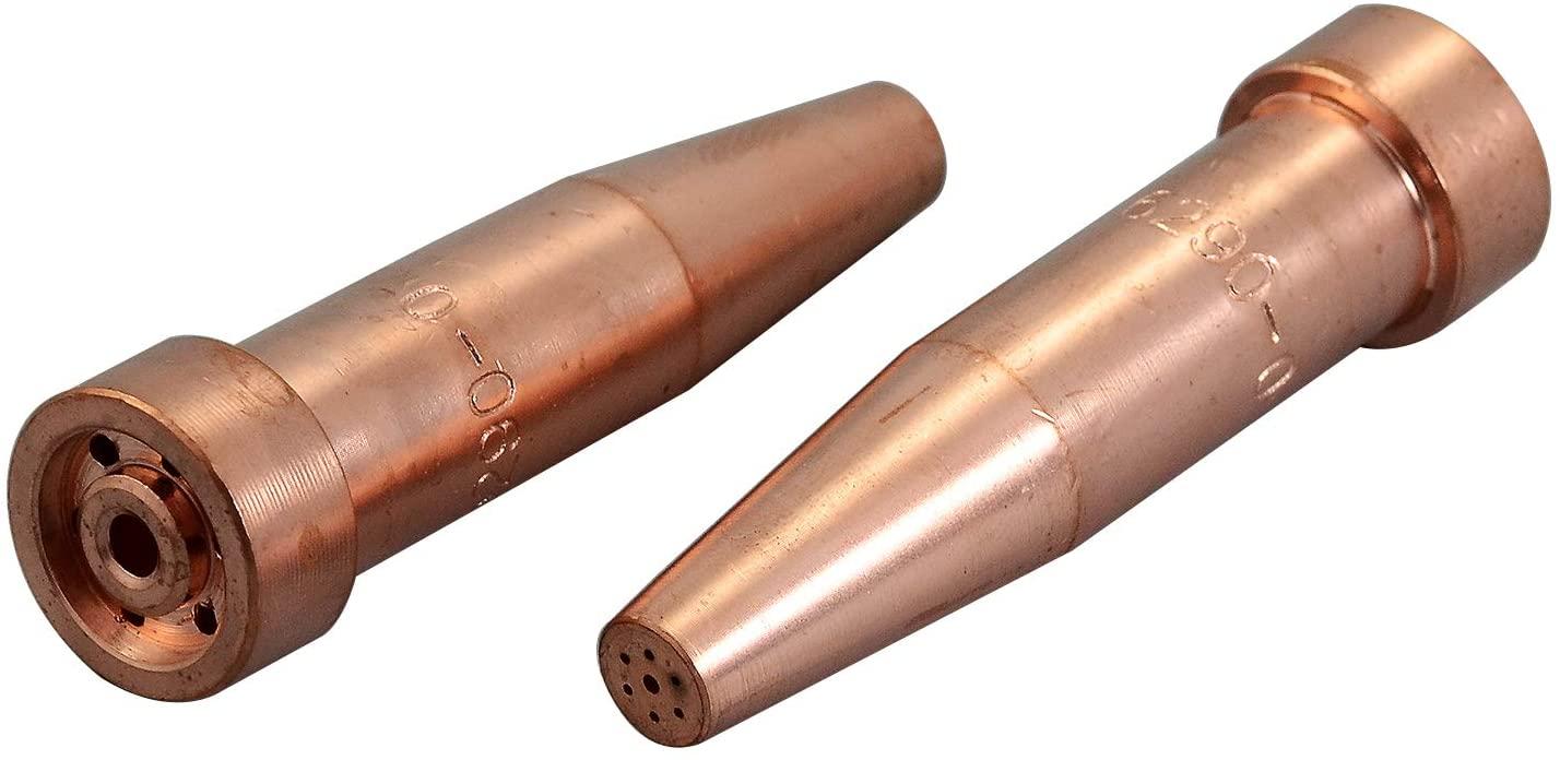 Acetylene Cutting Tips 6290-0 2pk