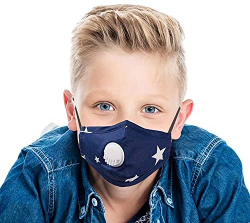 Kids Breathing Protection Respirators (Pack of 1) Comfortable and Excellent Against Harmful Air Particle Suitable for children