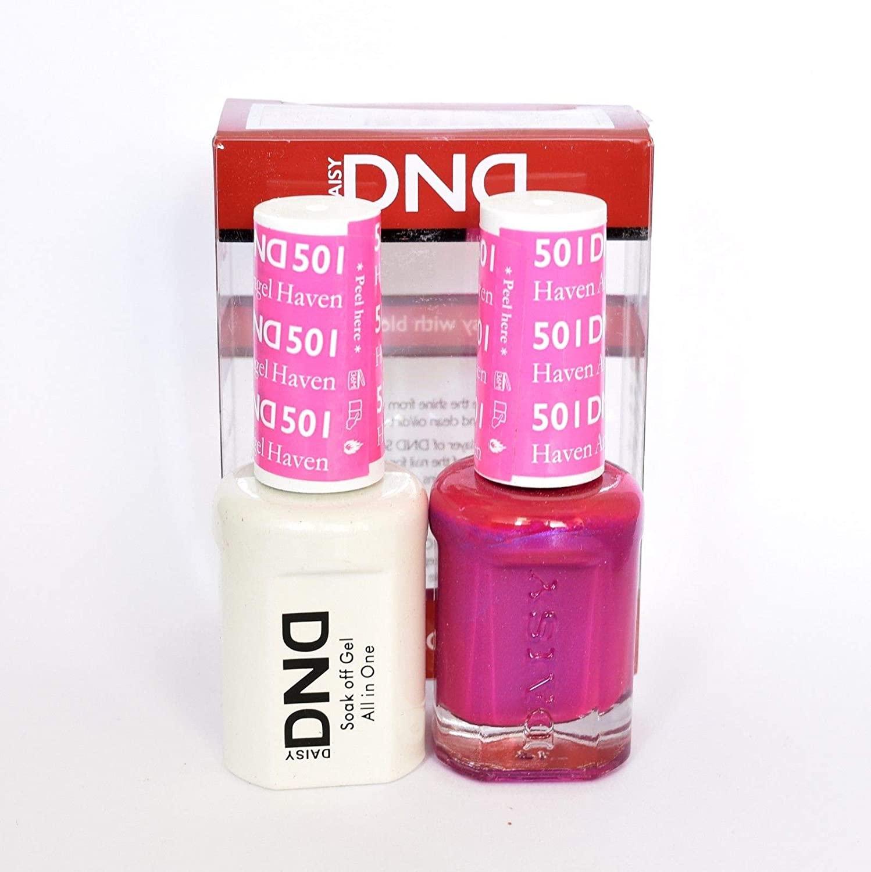 DND Daisy Soak Off Gel Polish + Matching Nail Polish Duo 488-530, Choose Any!