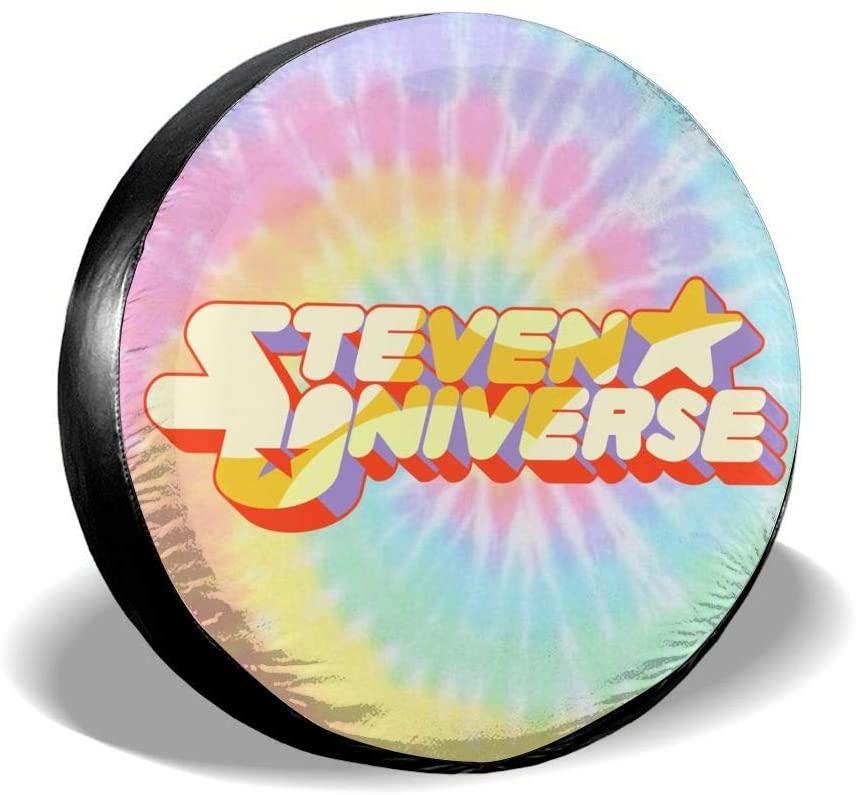 N/C Steven Universe Star Nspare Tire Cover Universal Spare Wheel Tire Covers for Jeep, Rv, SUV, Trailer, Truck