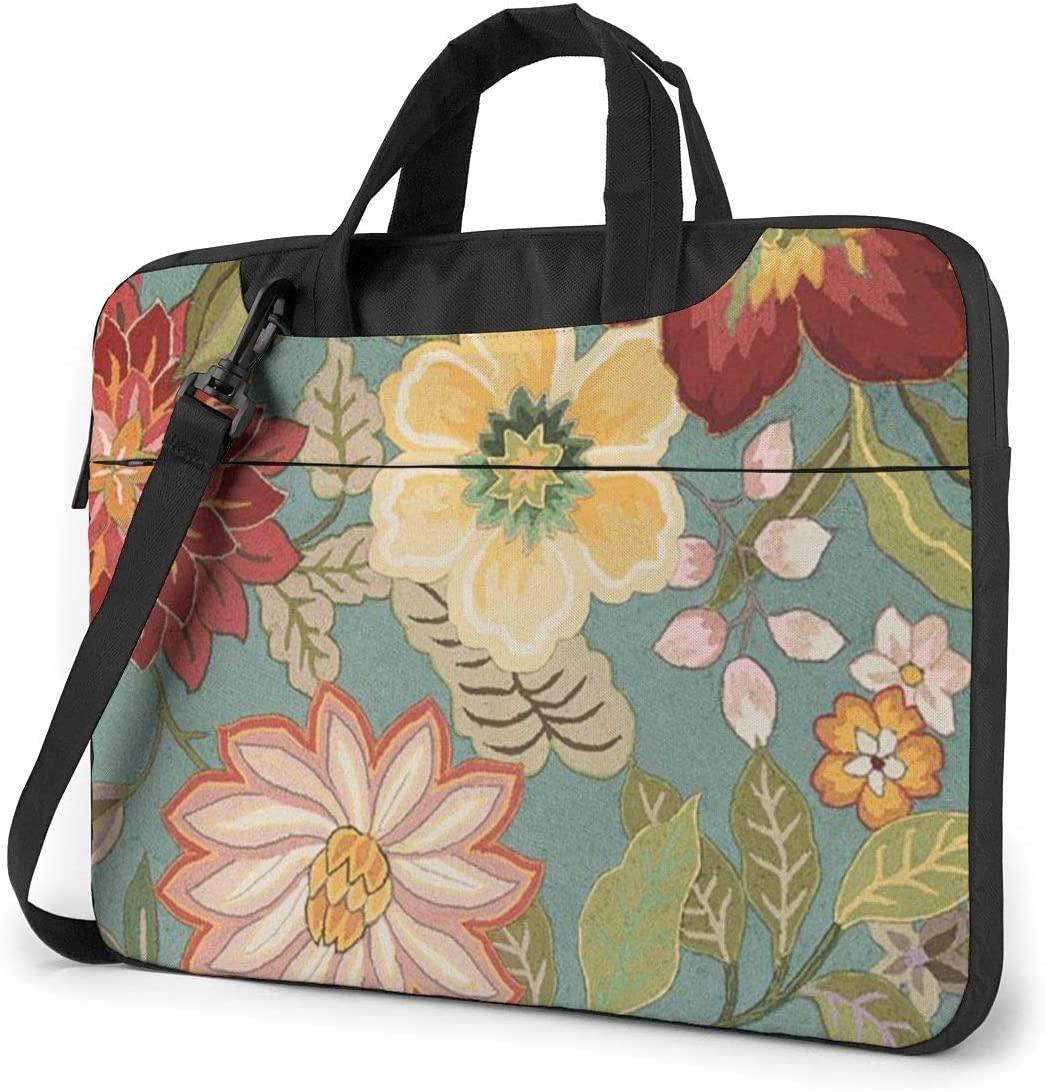 Laptop Case Computer Bag Sleeve Cover Full Floral Designer Waterproof Shoulder Briefcase 13 14 15.6 Inch