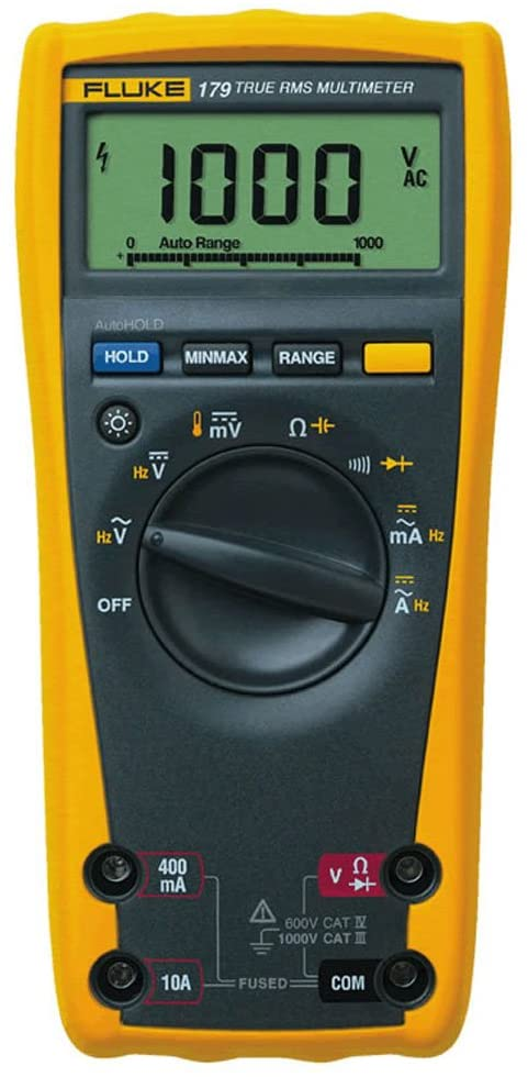Fluke 179 Digital Multimeter w/6000 Count Digital Display