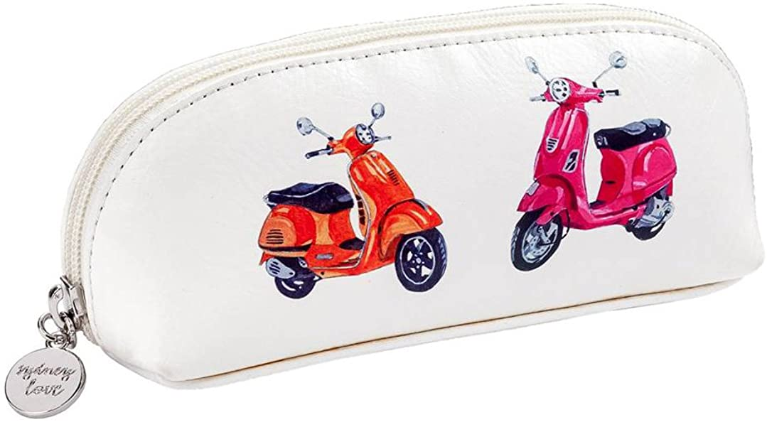 Sydney Love Easy Rider Zip Cosmetic Sunglass Case, Vespa