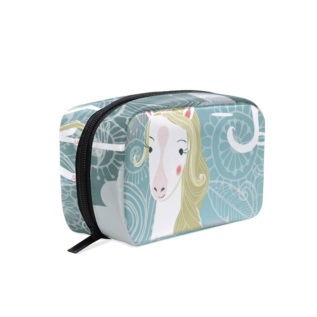 Cosmetic Makeup Bag Pouch Dreams Big Cute Unicorn Clutch