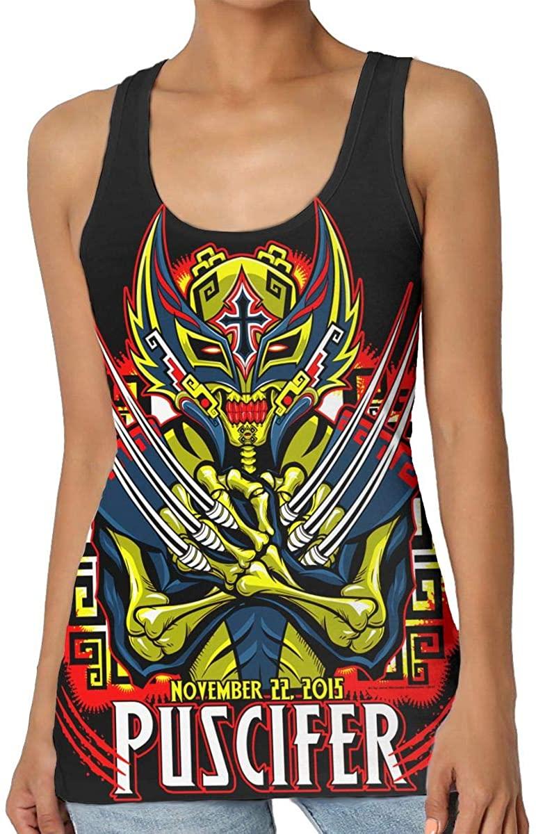 DaihAnle Puscifer Women's Sexy Vest Fashion Tank Vest T-Shirt