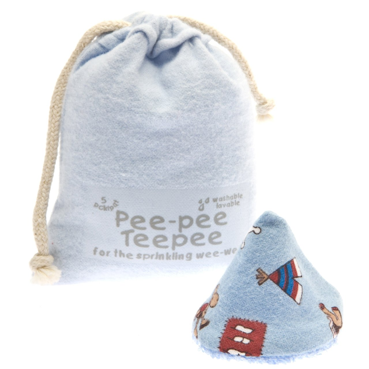 The Peepee Teepee for the Sprinkling WeeWee: Wild West in Laundry Bag