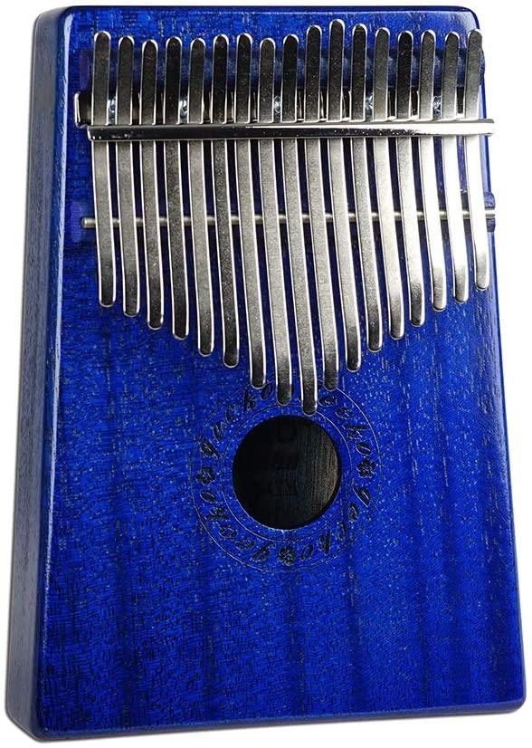 XuBa 17 Key African Thumb Piano Finger Percussion Keyboard Music Instruments (with Piano Box) K17MBL