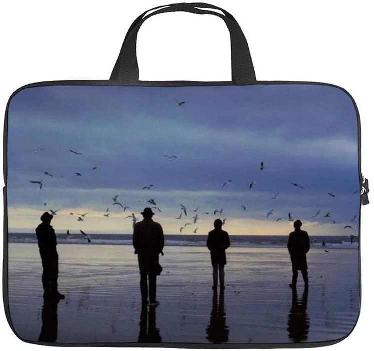 The Bunnymen Unisex Waterproof Briefcase Large Capacity Portable Laptop Bag