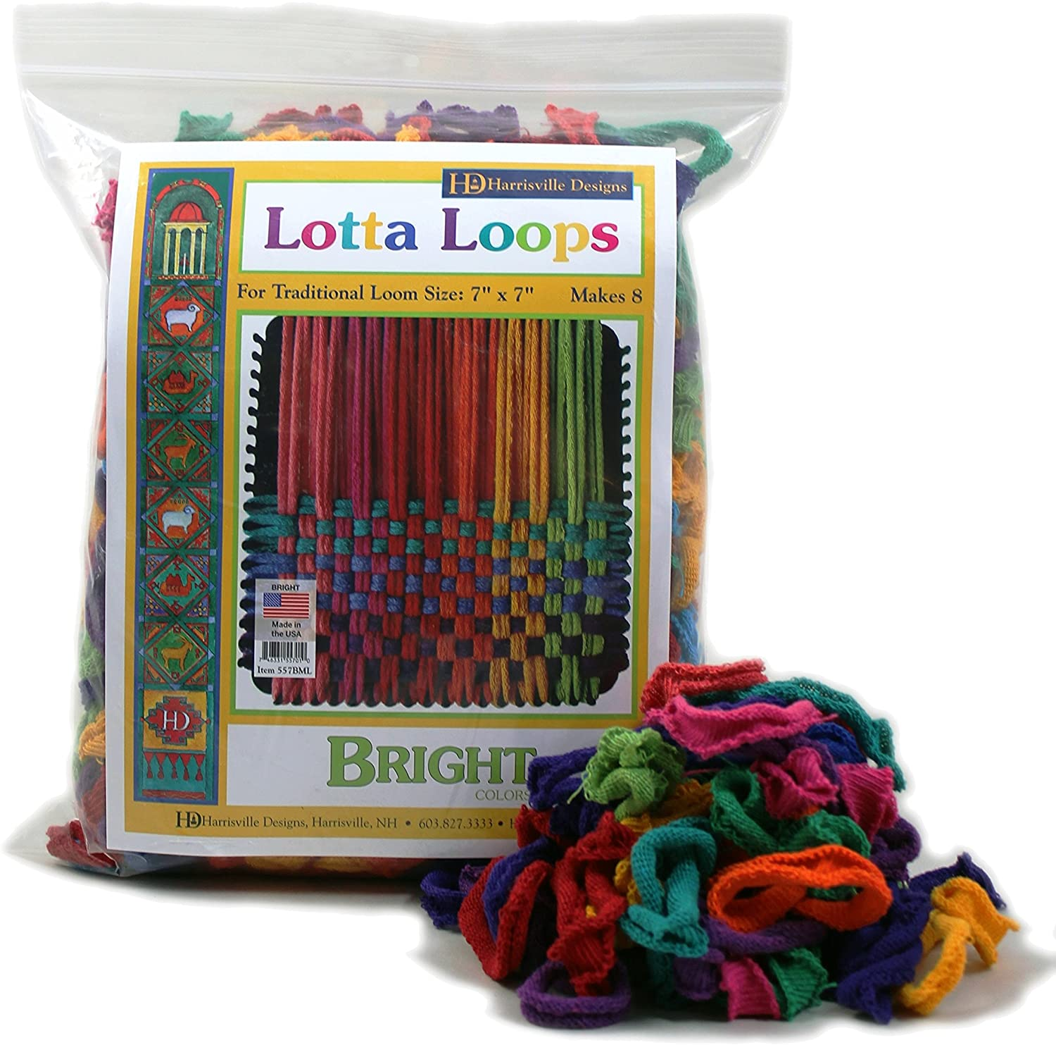 Harrisville Designs Friendly Loom Lotta Loops 7
