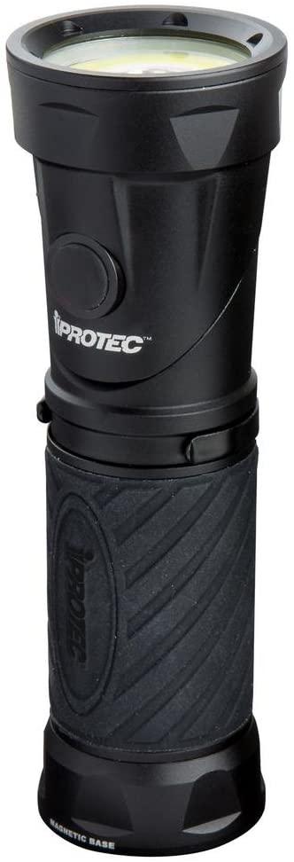 iProtec Night Commander Flashlight- Black