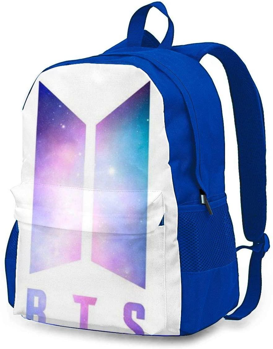 BTS Laptop Backpack, Travel Backpack Durable Carry-On Multipurpose Bag, Business Luggage Backpack