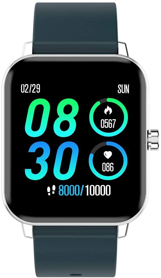 Watch for Android and iOS Phone IP68 Waterproof, Fitness Tracker Watch with Heart Rate Monitor Step Sleep Tracker, Smartwatch Compatible with iPhone Samsung, Watch for Men Women (LT666 WP03)