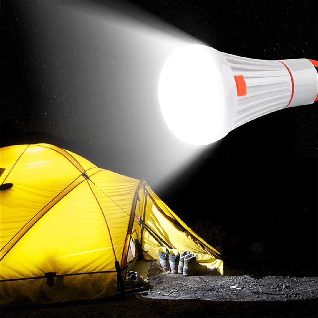 Danoensit Portable Led Flashlight Lanterna Torch Camping Light Hanging Lamp Work Light Tent Hiking Emergency