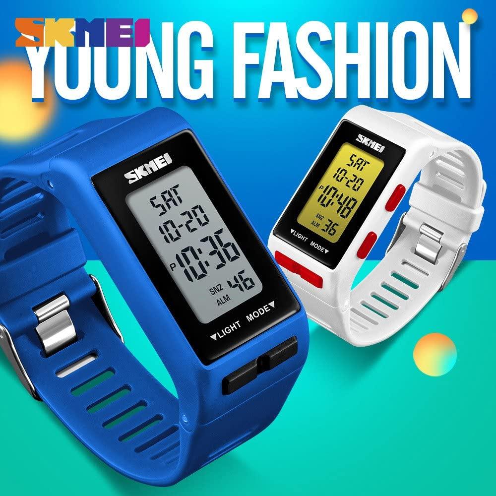 Black Watch Smart Watch Woman Sports Outdoor Watch Timer Waterproof Week Display Fashion Personality Relogio Feminino Saat