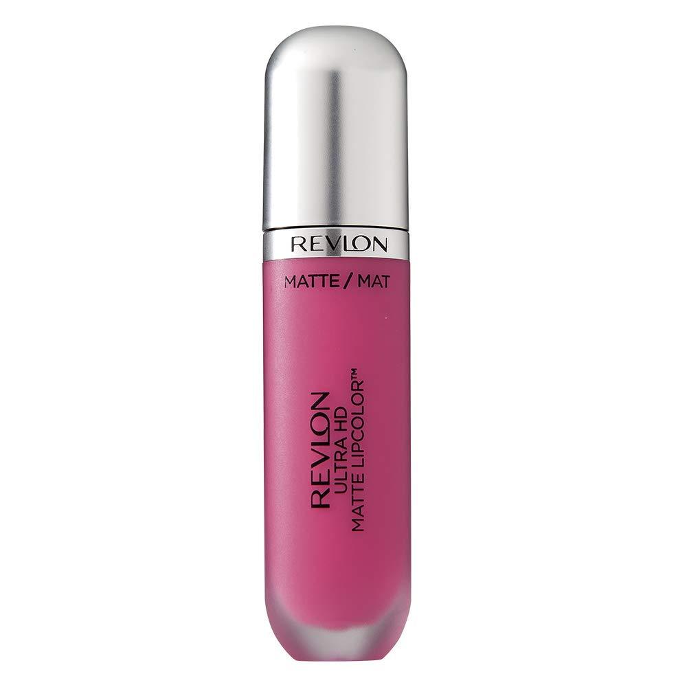 Revlon Ultra HD Matte Lipcolor, Liquid Lipstick, Spark