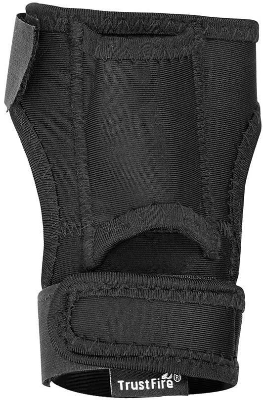 TrustFire DF008 Wrist Flashlight Holster Durable Flashlight Gloves Portable Arm Holder for Fishing Diving Hunting Hands-free Light